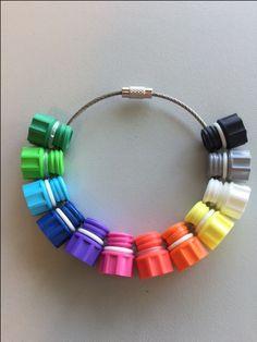 Geweldige #sleutelring #armband van Sophie http://www.staalkabelstunter.com/rvs-staaldraad-150-mm-armband.html