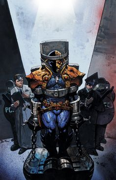 Deathstroke by Simon Bisley