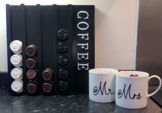 40 Best Coffee pod storage images in 2020   Coffee pod storage, Coffee pods, Coffee pod holder