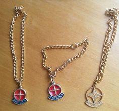 Cordao Colar Medalha Corrente Boneca Antiga Estrela. - R$ 100,00 no MercadoLivre