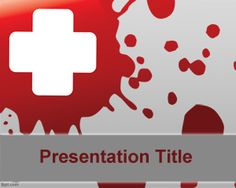 Free blood template for health presentations is a free medical template that you can download and use for Microsoft Power Point presentations on health or medical issues