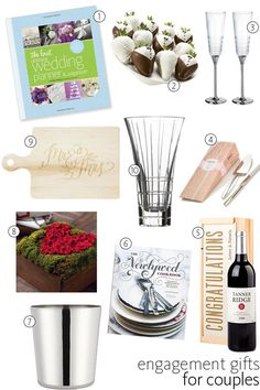 10 engagement gifts for couples