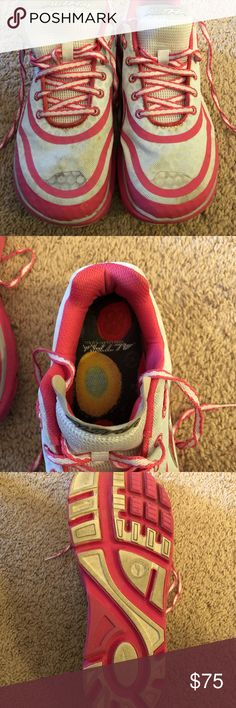 Altar shoes Almost new, recommend for Achilles issues Altra Shoes Athletic Shoes