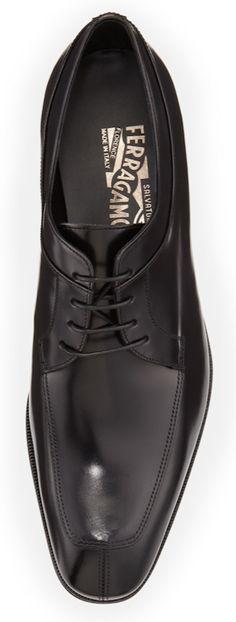 Salvatore Ferragamo Lanier Lace-Up Derby Shoe