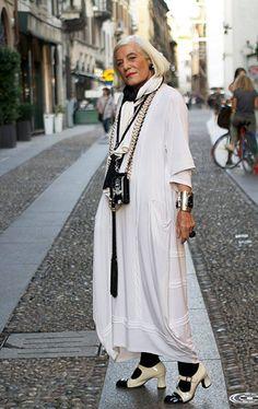 advanced style images | ファッショナブルで刺激を受ける!70代~の女性の ...