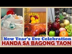 NEW YEAR'S EVE CELEBRATION| THE FILIPINO WAY| ANONG MGA HANDA SA NEW YEA... Sa News, New Year's Eve Celebrations, World Travel Guide, Filipino, New Years Eve, Philippines, Celebrities, Celebs, Foreign Celebrities