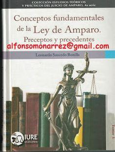 LIBROS EN DERECHO: CONCEPTOS FUNDAMENTALES DE LA LEY DE AMPARO PRECEP...