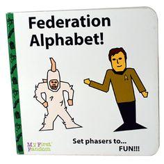 Federation Alphabet by MyFirstFandom on Etsy