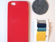 If she owns all the latest gadgets but still appreciates traditional handicrafts, this needlepoint-ready iPhone 5 case—plus four colors of embroidery floss and a needle—has her interests all sewn up. ($7.50 notsomodernmillie.etsy.com)   - CountryLiving.com