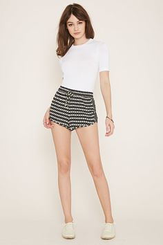 Forever 21 is the authority on fashion & the go-to retailer for the latest trends, styles & the hottest deals. Shop dresses, tops, tees, leggings & more! Abstract Print, Printed Shorts, Pretty Little, Latest Trends, Short Dresses, Forever 21, Tees, Shopping, Style
