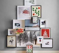Christmas in Paris Framed Print by Rebecca Plotnick #potterybarn