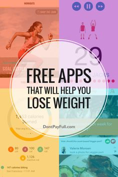 Trying to lose weight but don't want to join the gym? Here are 10 Free Apps That Will Help You Lose Weight! #DontPayFull