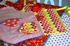 fat quarter kids apron