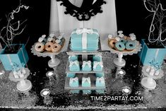 Lamis's Tiffany & Co. Themed Bridal Shower