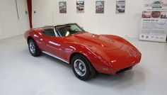1974 Chevrolet Corvette Stingray Convertible     Rare 1974 Corvette Stingray Convertible with automatic transmission. The car present very well and have no cosmetic or mechanical issues. The car has Danish papers.     Car Specification:  VIN: 1Z67J45426821  Odometer: 33478 miles  Engine: 350 cu in (5.7 L) V8  Transmission: Automatic  - K204