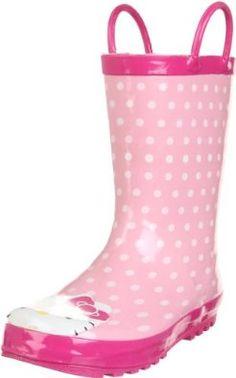 Western Chief Hello Kitty Polka Dotted Cutie Rain Boot