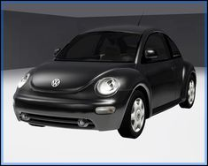 Fresh-Prince Creations - Sims 3 - 2003 Volkswagen New Beetle