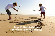 Top 10 Beach Games for your next family holiday. You can sit back and relax whilst the kids are having fun!
