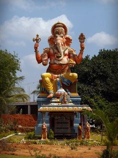 Lord Ganesha in Bangalore, India