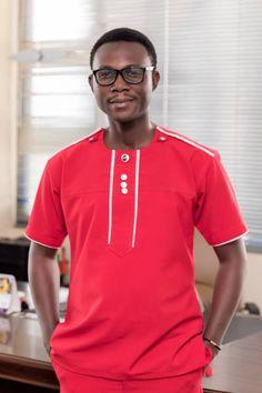 Mens fashion, African Ghana Ghanaian Fashion, African, Mens Fashion, Gallery, Clothing, Mens Tops, T Shirt, Moda Masculina, Outfits