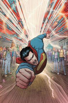 SUPERMAN – ACTION COMICS VOL. 7: UNDER THE SKIN HC  Aaron Kuder.  I love this super flight pose.