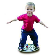 Challenging yet fun, our Labyrinth Junior Balance Board is perfect for little ones not quite ready for our original Labyrinth Balance Board. With a smaller footprint, fewer rings, and larger marbles, this pint-sized version allows children from 3 to 5 years old to maneuver several marbles through the grooved maze.