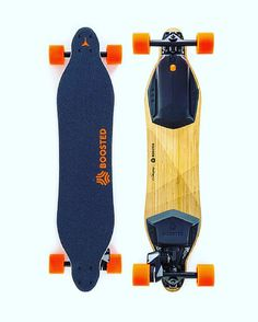 Get the feeling of snowboarding surfing and wakeboarding right outside your door with the Boosted Single thanks to electric motors powerful brakes and simple wireless control. With a max speed of 18 mph and a range of 8 miles you can get to your destination fast. #startups #gadgets #tech