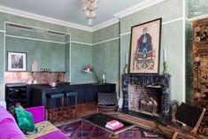Bright kilim rug with a summery vibe. #kilimrug #summerdecor