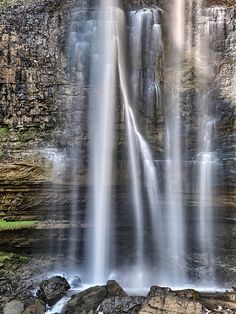 Tew's Falls, Hamilton Ontario -- hiking, ice climbing in winter w/ permission, nearby conservation areas,