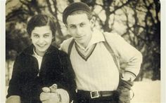 Fanni Gyarmati was the wife and muse of the Hungarian poet Miklós Radnóti who preserved his legacy after his death in the Holocaust Historical Photos, Couple Photos, Couples, Historical Pictures, Couple Shots, Couple Photography, Couple, History Photos, Couple Pictures