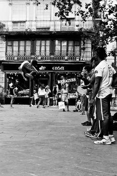 Capoeira en el Barrio Gótico