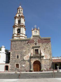 Church in Ajijic, Jalisco, Mexico