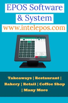 Epos System for Takeaway Order Management System, Can Run, About Uk, All In One, Software, Business, Store, Business Illustration