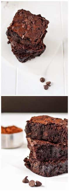 One Pot Fudgy Brownies