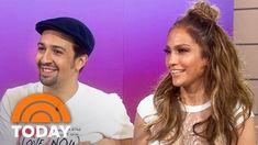 TODAY (7/11/2016): Jennifer Lopez: I 'Stalked' Lin-Manuel Miranda Into Singing With Me.