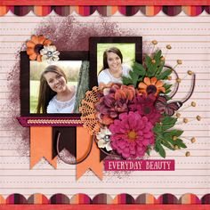 Think About It Templates by Little Rad Trio   Summer Flowers by Aprilisa Designs