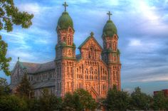 Saint Anne's Church Fall River MA HDR photo by Andrew Pacheco