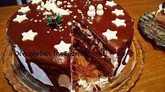 Banana cake with banana - HQ Recipes Xmas Food, Christmas Sweets, Christmas Cooking, Christmas Ideas, Merry Christmas, Greek Sweets, Greek Desserts, Greek Recipes, Cinnamon Cake