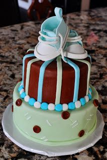 DoodlePie Cakes: Baby Boy Shower