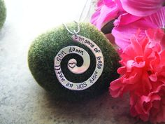 Hand Stamped Jewelry Mom Of Boys Work Son Up by BeeBaublesJewelry, $25.00