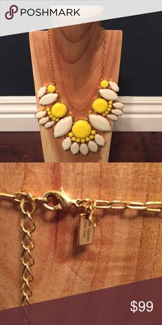 FINAL PRICE Kate Spade Statement Necklace Worn once and in perfect condition. kate spade Jewelry Necklaces