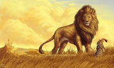 Narnia by Atan on DeviantArt Narnia Book Series, Chronicles Of Narnia Books, Fantasy World, Fantasy Art, Aslan Narnia, Narnia Movies, Prince Caspian, Fanart, Cs Lewis