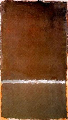 Mark Rothko, Untitled, 1969. Acrylic on paper mounted on canvas. 183 x 107 cm. Collection of Kate Rothko Prizel.