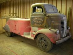 Old Dodge welding truck. Trucks For Sale, Cool Trucks, Big Trucks, Cool Cars, Semi Trucks, Antique Trucks, Vintage Trucks, Dodge Trucks, Pickup Trucks