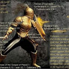 Put on the whole armor of God, that you may resist the schemes of the devil