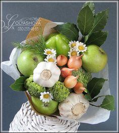 Gallery.ru / Фото #13 - Букеты из овощей и фруктов - nekto1