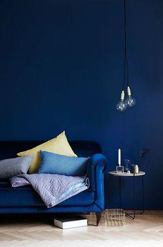 Autumn mood - blueish art deco vibes the Scandinavian way by @sostrenegrenes