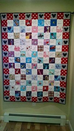 Love this idea for a quilt.