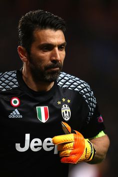 Gianluigi Buffon of Juventus looks on during the UEFA Champions League Semi Final first leg match between AS Monaco v Juventus at Stade Louis II on May 3, 2017 in Monaco, Monaco.
