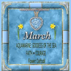 Zodiac and Birth Month | Jewels Art Creation
